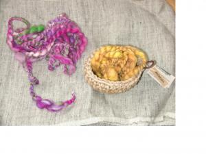 紡ぎ毛糸2