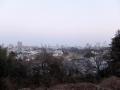 川内三十人町上の藪から見た街