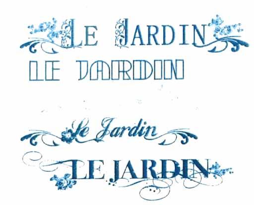 看板ル・ジャルダン