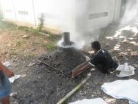 炭生産の様子2