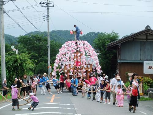 120714 井上の笠鉾