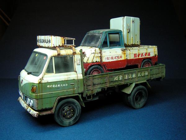 ブログ廃車トラック1