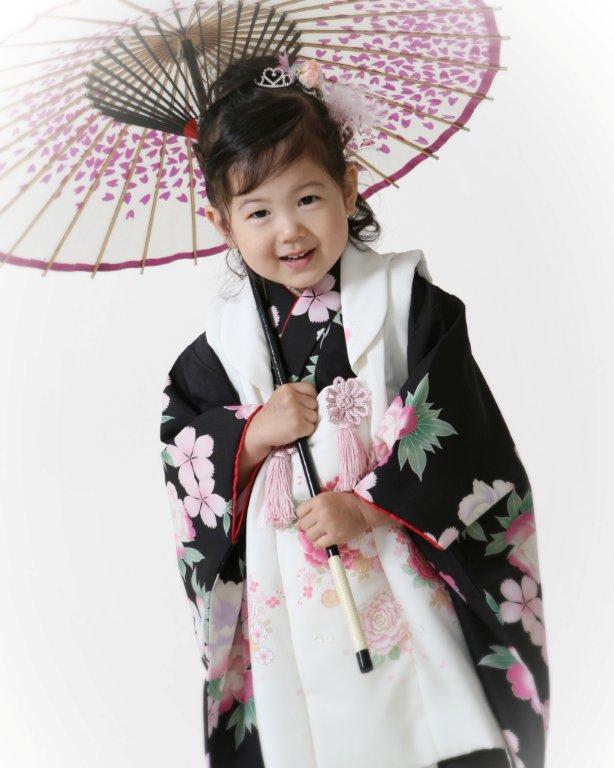 七五三りこ傘