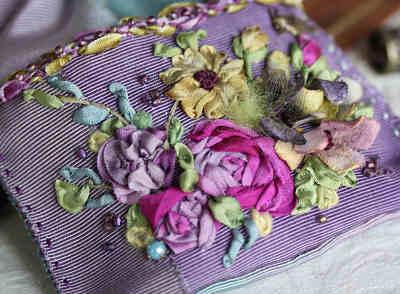 刺繍の拡大