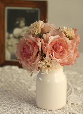 バラと?の花