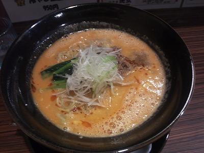 豊田市 山之手 虎玄 坦々麺 01