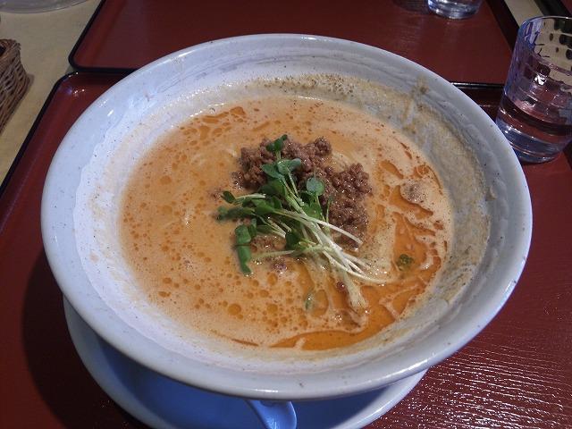 なな家_和風 坦坦麺02