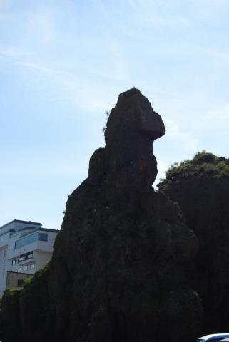 ゴジラ岩1