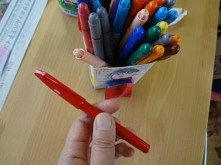 先生の赤ペン