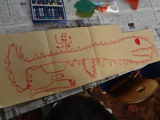 恐竜のさかな