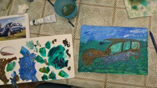 油絵教室4