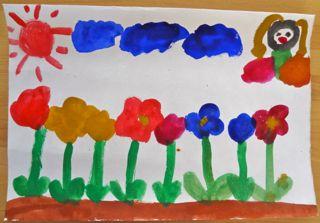 鳥の子紙に描く7