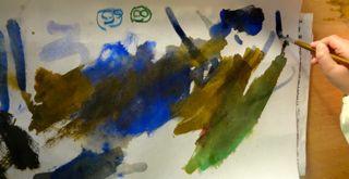 鳥の子紙に描く11