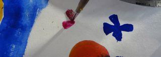 鳥の子紙に描く3