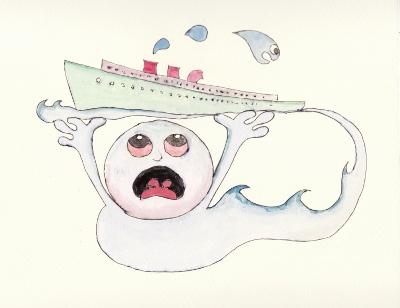 知多の幽霊船
