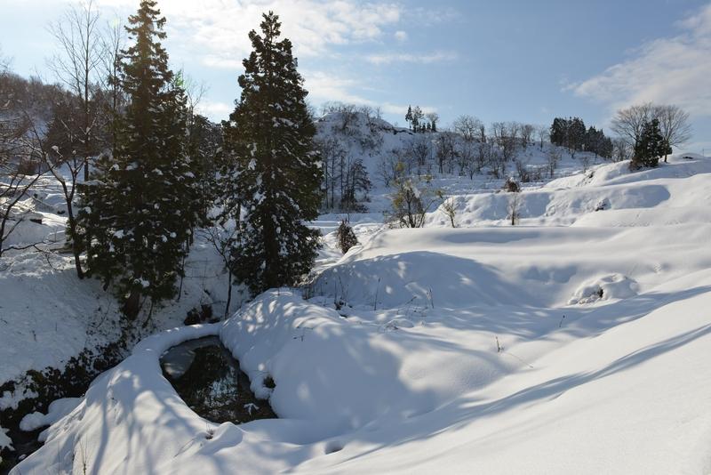 雪の山里-1