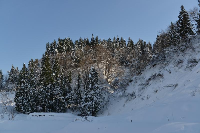 雪の山里-3