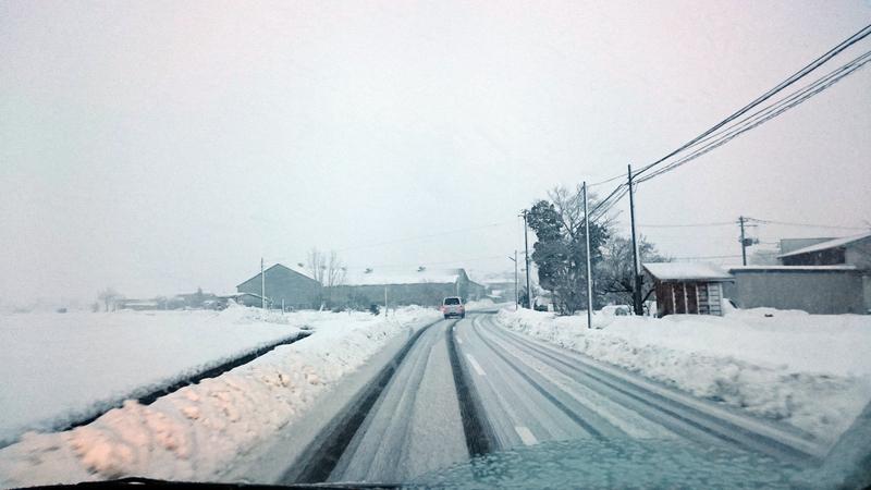 雪の通勤路-2