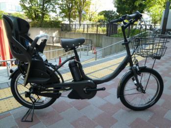 自転車の ベビー 自転車 電動 : 電動自転車とチャイルドシート ...