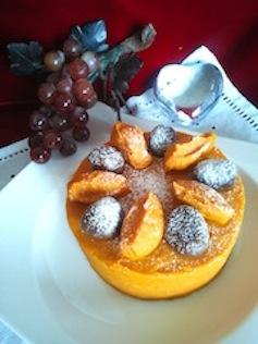 カボチャデコレーションケーキ(ブログ)
