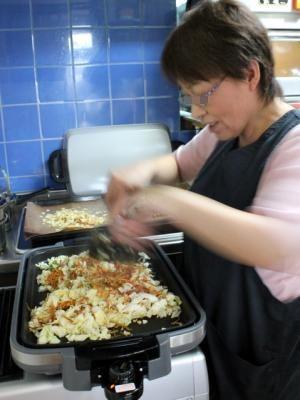 12.05.15出張パン教室07_昼食作り