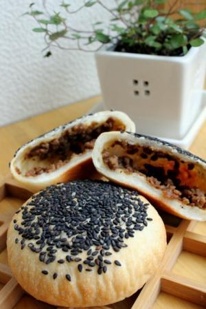 12.06.20肉味噌米粉パン