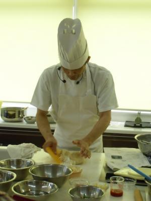 12.07.08広ガス米粉パン教室2