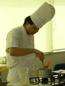 12.08.12米粉パン教室_フレンチトースト液を作る