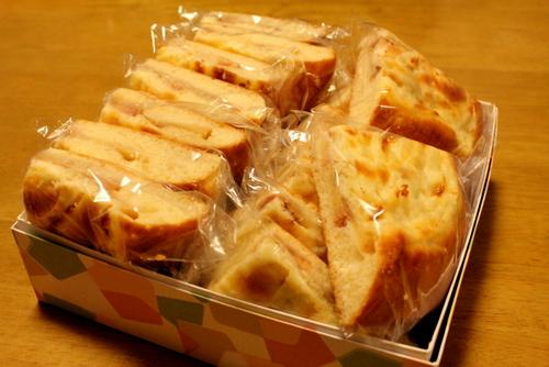 2012.11.02りんごのガレット_お茶請け