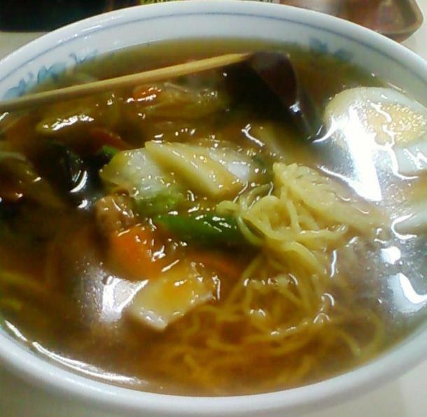 醤油うま煮麺700円