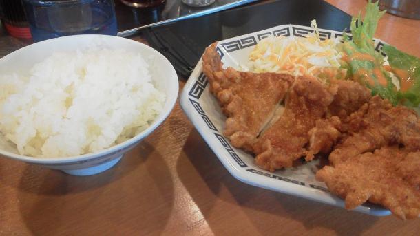 から揚げ定食+330円