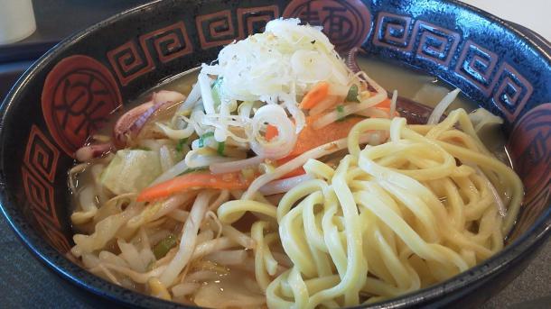 ちゃんぽん650円 つくばね製麺