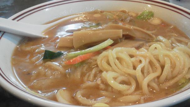 みそ野菜ラーメン750円