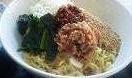 汁無し坦々麺+半チャーハンセット730円t