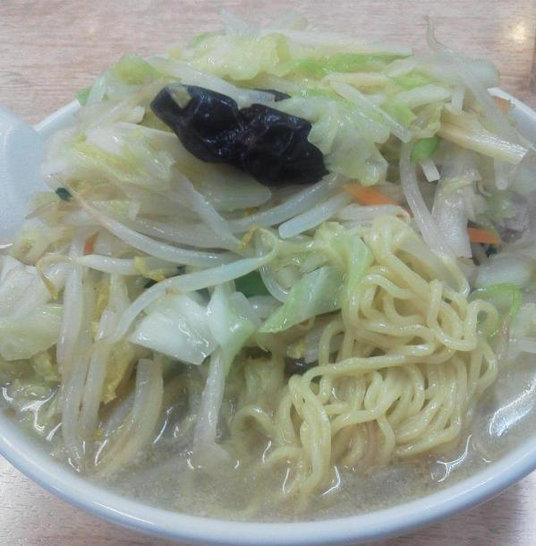 タンメン800円