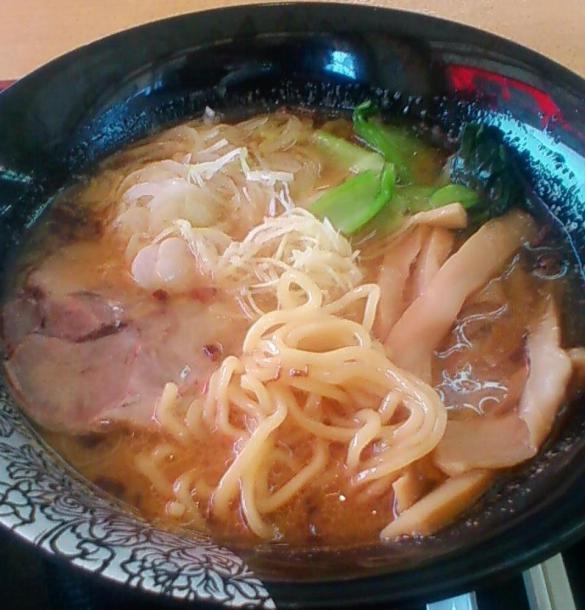 生姜ラーメン+半チャーハンセット800円2