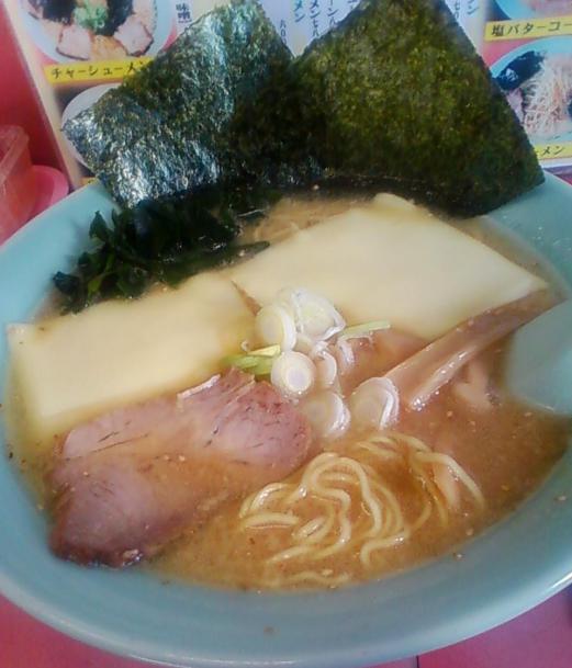 ミソチーズラーメン800円