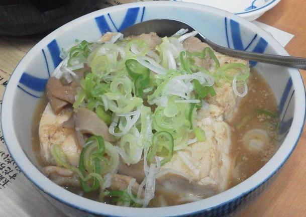牛煮込み豆腐470円