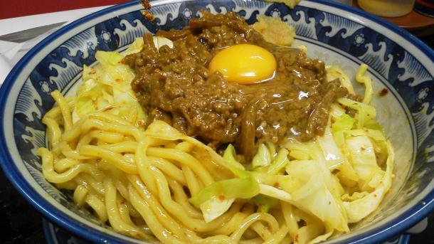 スタミナめん(ぶっかけ+冷たい麺+ニンニク)800円
