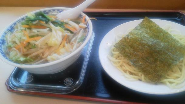 つけタンメン750円