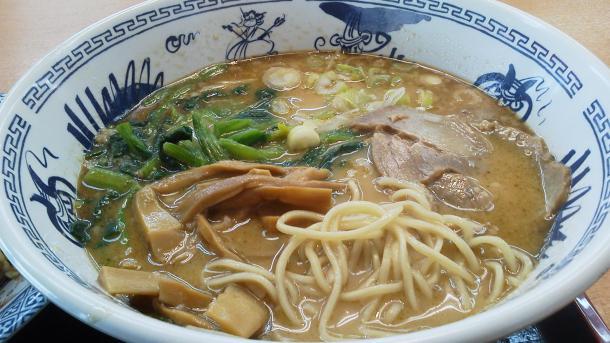 にんにく豚骨らーめん+チャーハンセット750円2