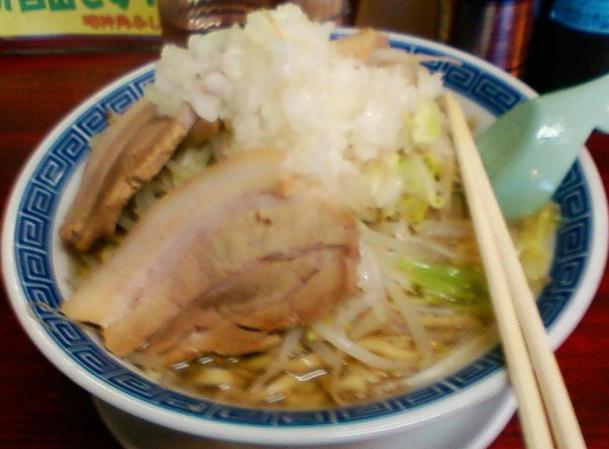 ふじ麺(300g)700円+小ブタ+150円