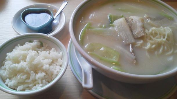 連鍋湯麺900円