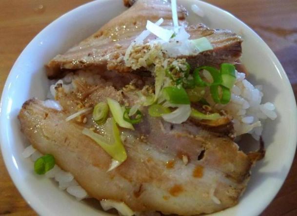 煮豚飯(半)220円