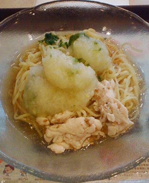 氷冷おろし麺399円