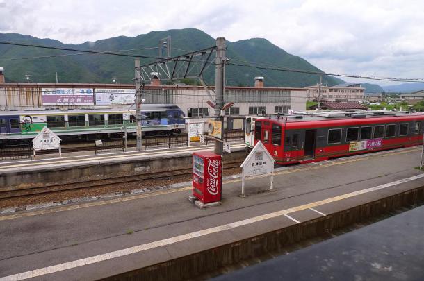 会津田島駅4