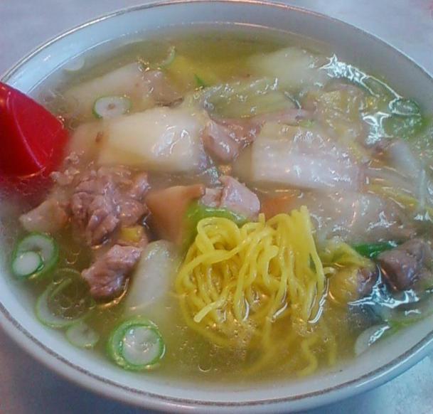 広東麺720円