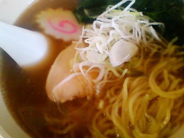 醤油ラーメン330円