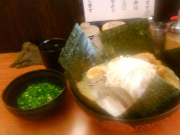 塩釜ラーメン+全部乗せ+大盛り(サービス)