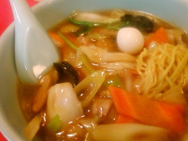 野菜麺750円